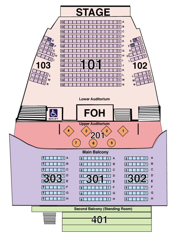 Acl Moody Theater Seat Map | www.microfinanceindia.org