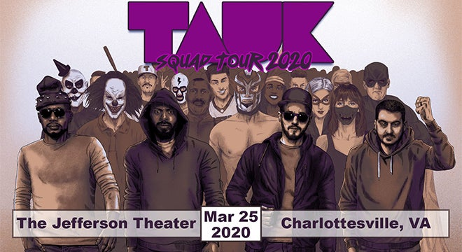 Tauk Halloween 2020 POSTPONED   Tauk | The Jefferson Theater